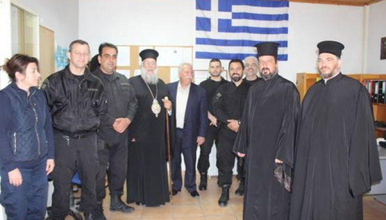 Επισκέψεις του Μητροπολίτου Κερκύρας ενόψει του Αγίου Πάσχα (ΦΩΤΟ)