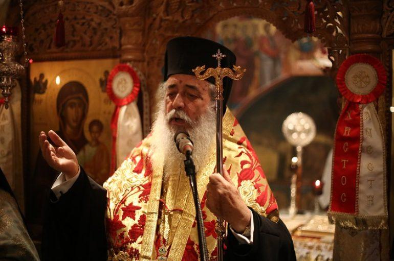 Πανηγυρικός Εσπερινός στην Ιερά Μονή Αγίου Γεωργίου Μύλων (ΦΩΤΟ)