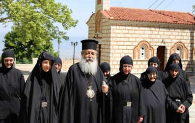 Νέα Μοναχή στην Ιερά Μονή Παναγίας Δαμάστας (ΦΩΤΟ)