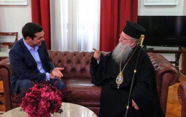 Ο ΣΥΡΙΖΑ καταγγέλλει τον Θεσσαλονίκης Άνθιμο για «πραξικόπημα» στη Ροτόντα