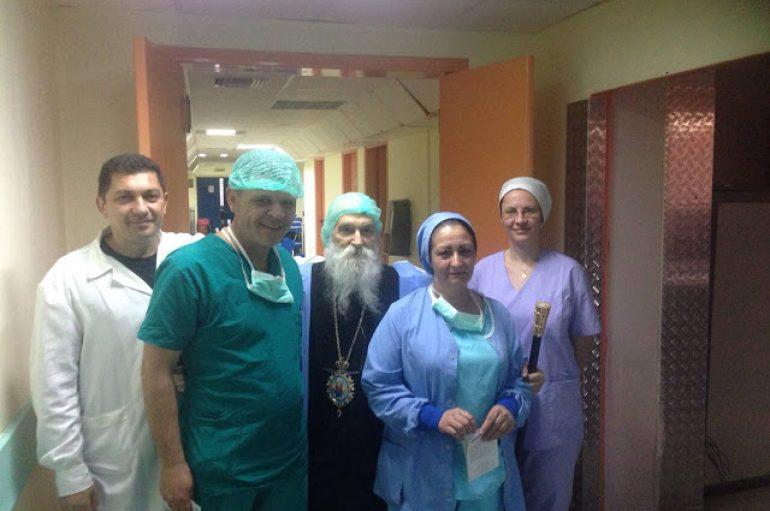 Επίσκεψη του Μητροπολίτη Γλυφάδας στο Γεν. Νοσοκομείο Ασκληπιείο Βούλας (ΦΩΤΟ)