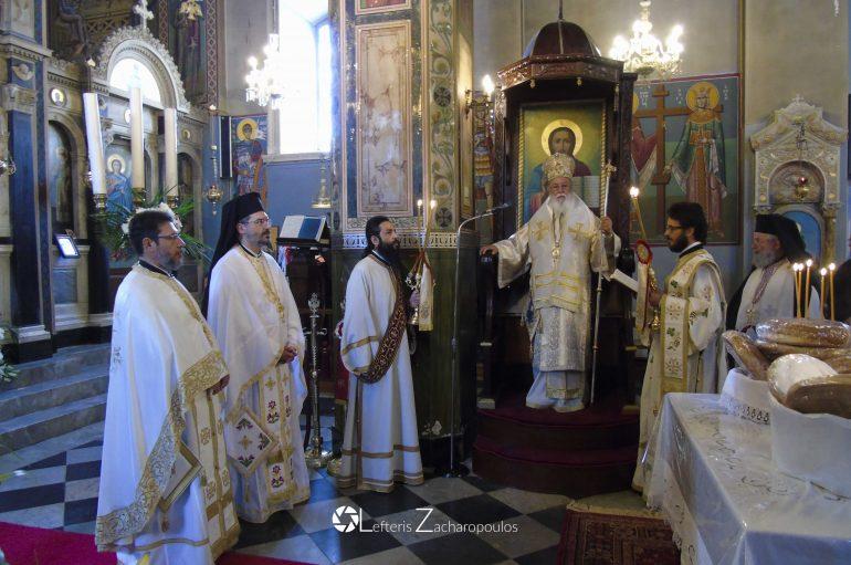 Η εορτή του Αγίου Νείλου του Μυροβλύτου στη γενέτειρά του (ΦΩΤΟ)