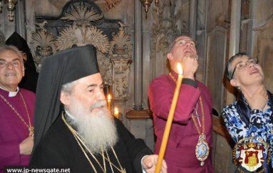 Ο Αρχιεπίσκοπος Κανταρβουρίας στο Ναό της Αναστάσεως (ΦΩΤΟ-ΒΙΝΤΕΟ)