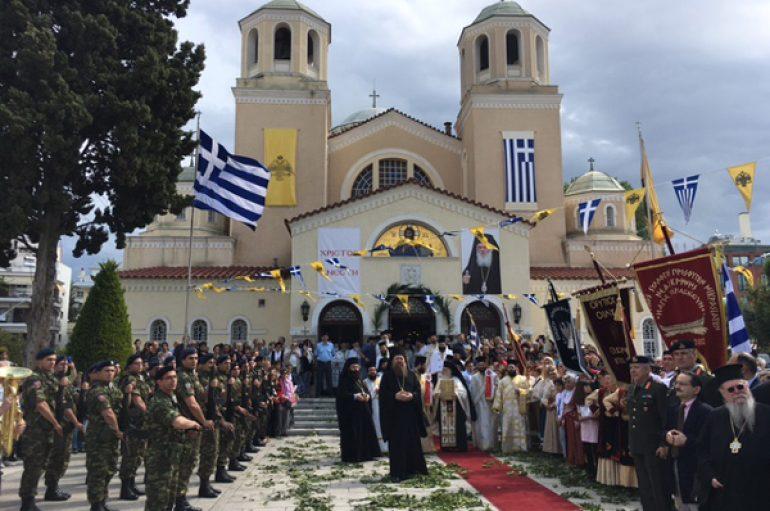 Ο Αρχιεπίσκοπος στην Ι. Μητρόπολη Νέας Κρήνης και Καλαμαριάς (ΦΩΤΟ)