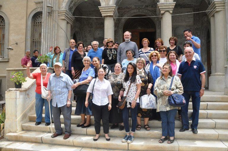 Προσκυνηματική επίσκεψη στον Ι. Ν. Αγίας Αικατερίνης Σουέζ (ΦΩΤΟ)