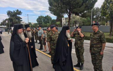 Ο Αρχιεπίσκοπος Ιερώνυμος στο Στρατόπεδο Νταλίπη (ΦΩΤΟ)