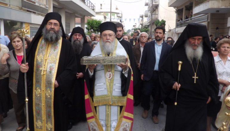 Υποδοχή Λειψάνων της Αγίας Φωτεινής της Σαμαρείτιδος στην Κόρινθο (ΦΩΤΟ)