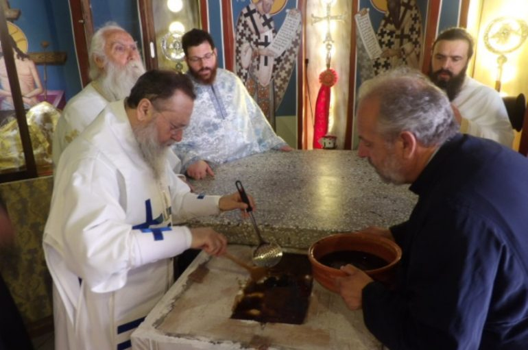 Η εορτή της Αγίας Φωτεινής της Σαμαρείτιδος στην Ι. Μ. Κορίνθου (ΦΩΤΟ)