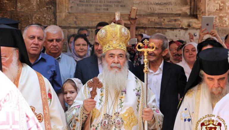 Η εορτή του Αγίου Γεωργίου στο Πατριαρχείο Ιεροσολύμων (ΦΩΤΟ)