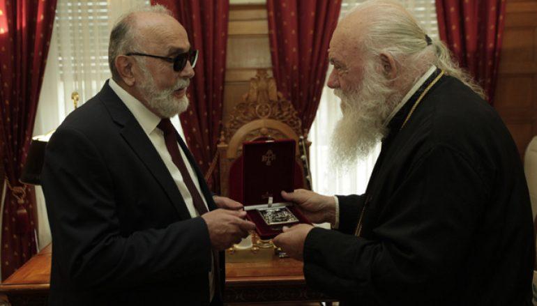 Στον Αρχιεπίσκοπο Ιερώνυμο ο Υπουργός Ναυτιλίας (ΦΩΤΟ)