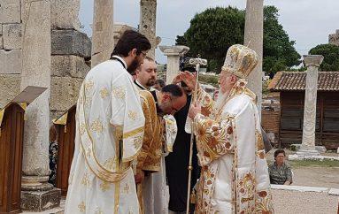 Χειροτονία Διακόνου από τον Οικ. Πατριάρχη στην Αρχαία Έφεσο (ΦΩΤΟ)