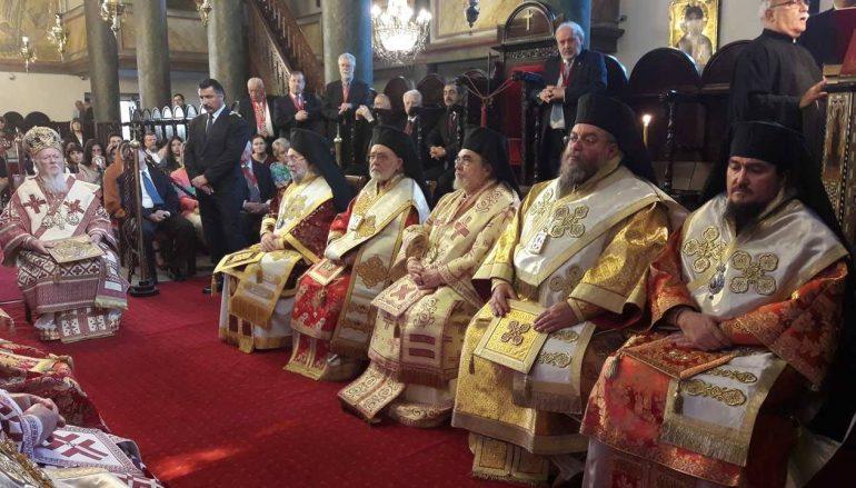 Πατριαρχική και Συνοδική Θεία Λειτουργία των Αγίων Πατριαρχών Κωνσταντινουπόλεως (ΦΩΤΟ)