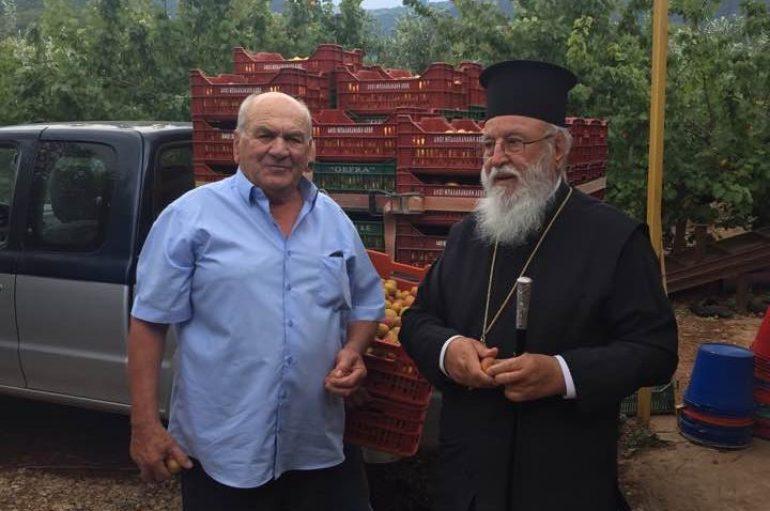 Η Ι. Μητρόπολη Μαντινείας διένειμε φρούτα στα ιδρύματά της (ΦΩΤΟ)