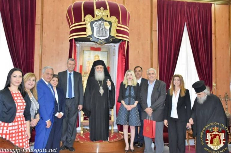 Επιτροπή της Βουλής της Κύπρου στον Πατριάρχη Ιεροσολύμων (ΦΩΤΟ-ΒΙΝΤΕΟ)