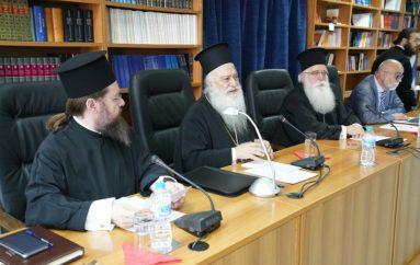 Ο Μητροπολίτης Βεροίας στην Ιερατική Σύναξη της Ι. Μ. Δημητριάδος (ΦΩΤΟ)
