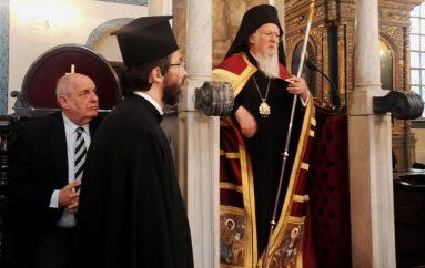 Στον Οικ. Πατριάρχη ο Υφυπουργός Εξωτερικών Τέρενς Κουίκ