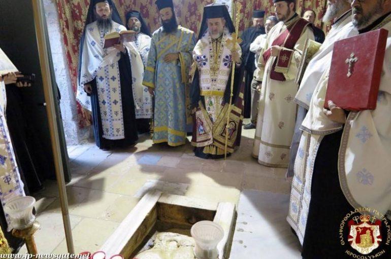 Η εορτή της Αναλήψεως στο Πατριαρχείο Ιεροσολύμων (ΦΩΤΟ – ΒΙΝΤΕΟ)