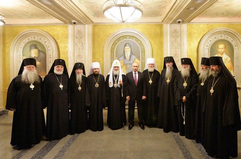 Συνάντηση Πούτιν με Πατριάρχη Μόσχας Κύριλλο (ΦΩΤΟ)