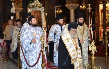 Λιτάνευση της Παναγίας Ελεούσας στην Ι. Μ. Εδέσσης (ΦΩΤΟ)