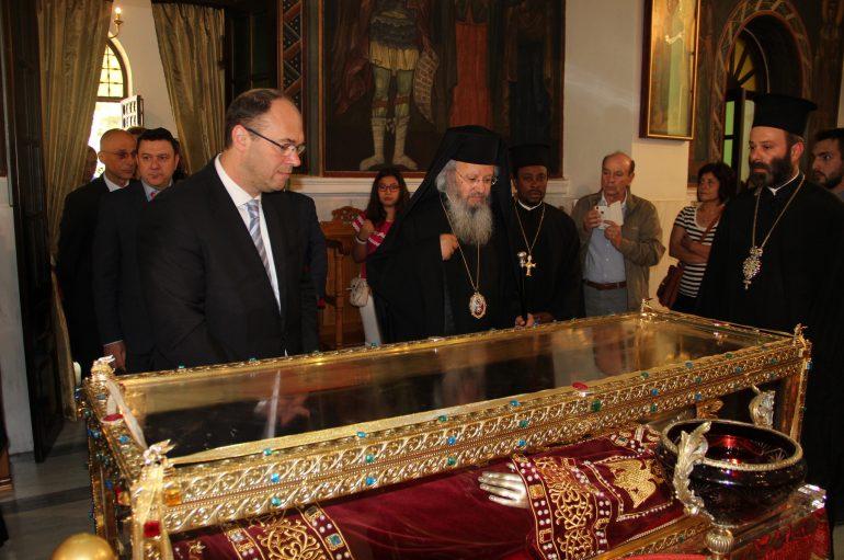 Αναπλ. Πρωθυπουργός Κροατίας: «Προνόμοιο να προσευχηθούμε ενώπιον της Αγ. Ελένης»