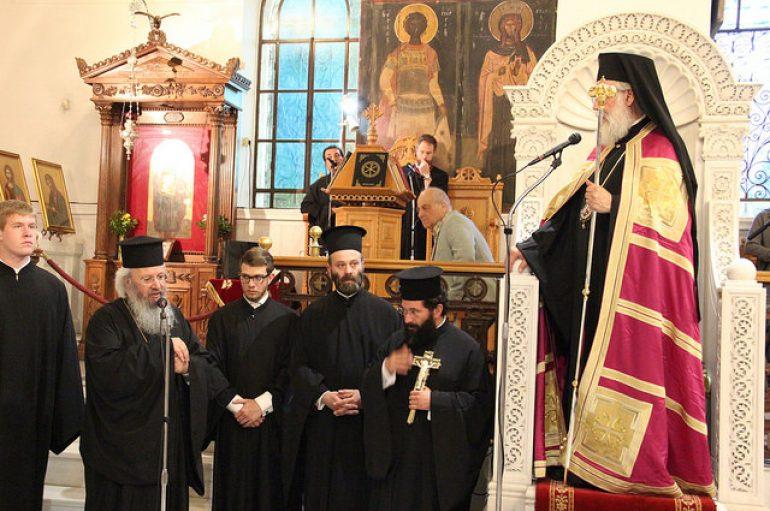 Αρχιερατικός εσπερινός των 318 Θεοφόρων Πατέρων στην Αγ. Βαρβάρα Αττικής (ΦΩΤΟ)