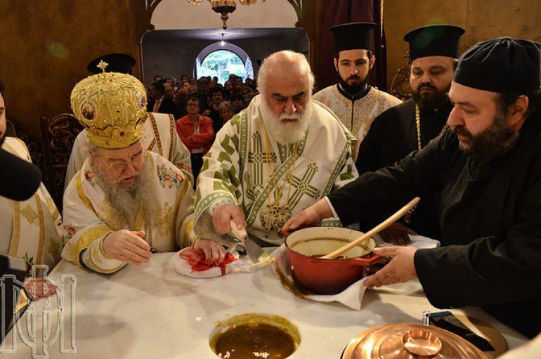 Εγκαίνια Ι. Ναού Αγίας Γλυκερίας της Ι. Μ. Θεσσαλονίκης (ΦΩΤΟ – ΒΙΝΤΕΟ)