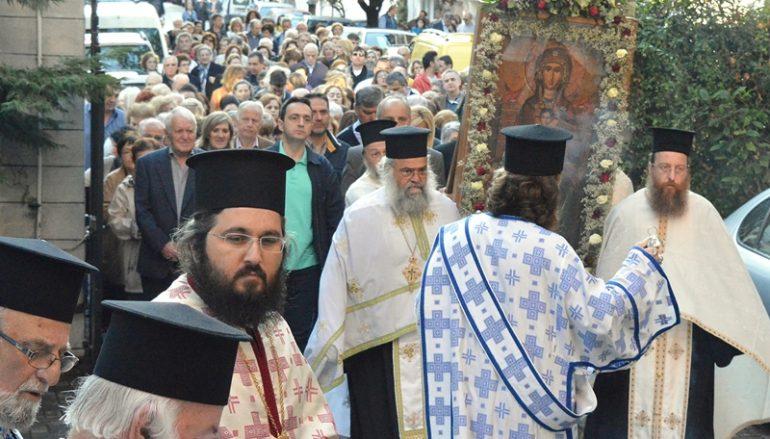 Ολοκληρώθηκε ο εορτασμός της Παναγίας Ελεούσης στην Έδεσσα (ΦΩΤΟ)
