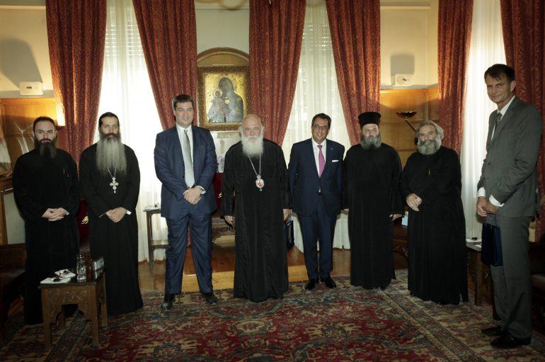 """Αρχιεπίσκοπος Ιερώνυμος: """"Η Ευρώπη δεν είναι της αλληλεγγύης, αλλά της εκμετάλευσης"""" (ΦΩΤΟ)"""