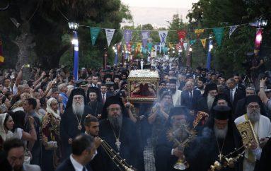 Η Αθήνα υποδέχθηκε την Αγία Ελένη (ΦΩΤΟ-ΒΙΝΤΕΟ)