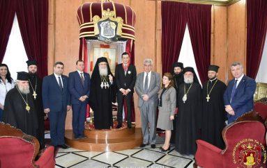 Ο Πρωθυπουργός της Ρουμανίας στον Πατριάρχη Ιεροσολύμων (ΦΩΤΟ)
