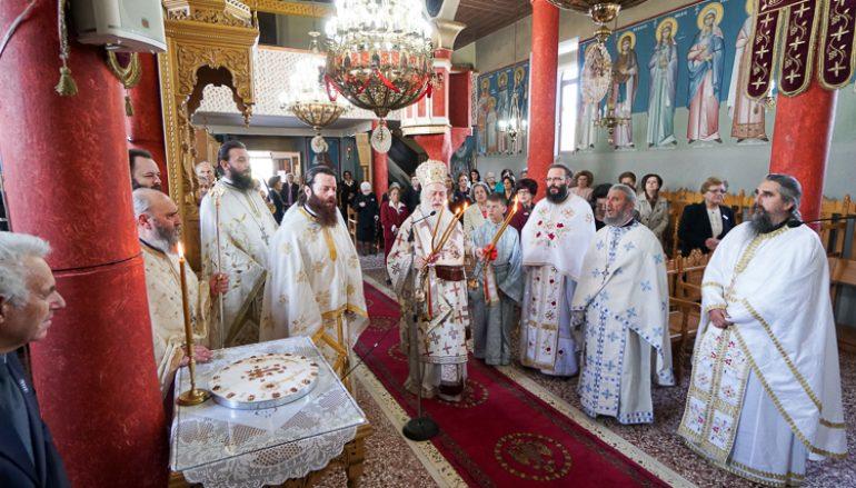 Η εορτή των Αγίων Συζύγων Τιμοθέου και Μαύρας στα Μονόσπιτα Ναούσης (ΦΩΤΟ)
