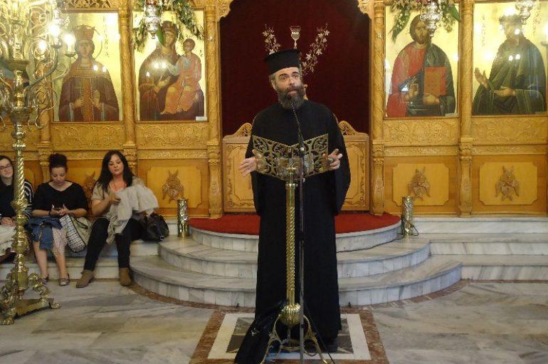 Ομιλία του Αρχιμ. Ανδρέα Κονάνου στην Ι. Μ. Μαρωνείας (ΦΩΤΟ)