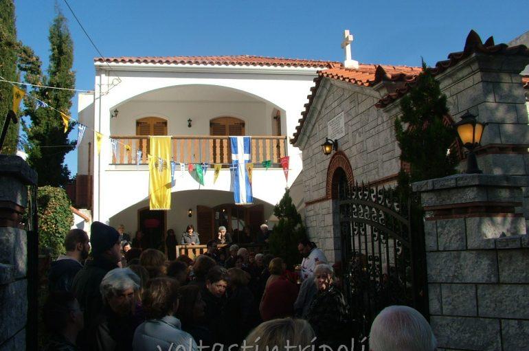 Εορτάζει το Μετόχι της Ι. Μ. Μαλεβής Τρίπολης τον Άγιο Νείλο