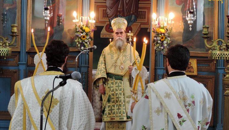 Αρχιερατική Θ. Λειτουργία στον Ναό των Αγ. Κωνσταντίνου και Ελένης Άρτης (ΦΩΤΟ)