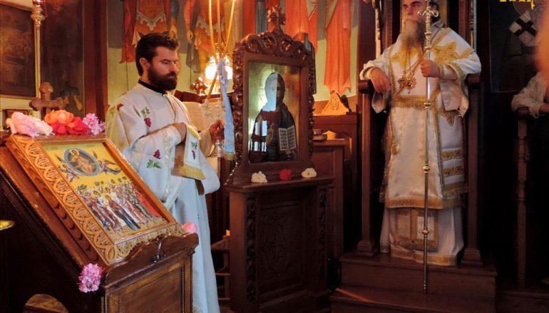 Εορτή της Αναλήψεως στην Ιερά Μονή Θεοτοκιού Άρτης (ΦΩΤΟ)