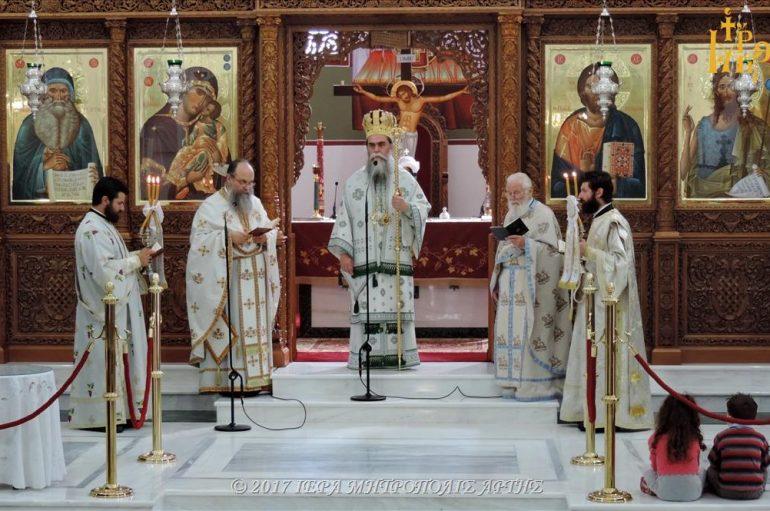 Κυριακή των Πατέρων της Α΄ Οικουμενικής Συνόδου στην Ι. Μ. Άρτης (ΦΩΤΟ)