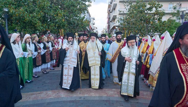 Κορυφώθηκαν οι εορταστικές εκδηλώσεις του Αγίου Χριστοφόρου στο Αγρίνιο (ΦΩΤΟ)