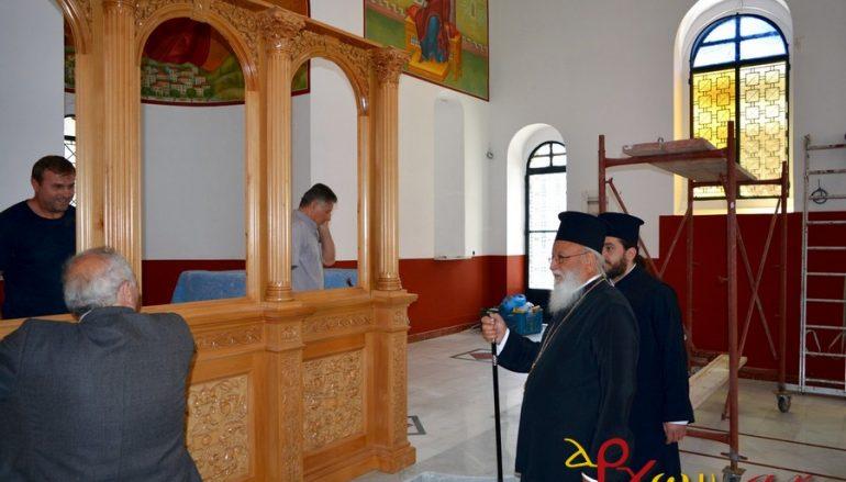 Προχωρούν οι εργασίες ανακαίνισης του Ι. Ν. Νεομ. Παύλου Τρίπολης (ΦΩΤΟ – ΒΙΝΤΕΟ)