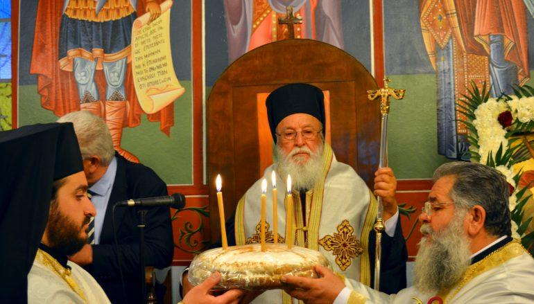 Αρχιερατικός Εσπερινός του Αγίου Ιωάννη Θεολόγου στην Τρίπολη (ΦΩΤΟ)