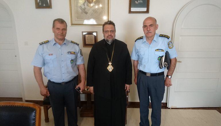 Στο Μητροπολίτη Μεσσηνίας ο Περιφ. Aστυνομ. Δ/ντής Πελοποννήσου (ΦΩΤΟ)