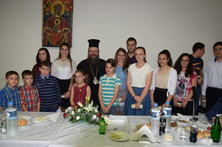 Δείπνο προς τιμήν των Ιερατικών Οικογενειών στην Ι. Μ. Μεγάρων (ΦΩΤΟ)