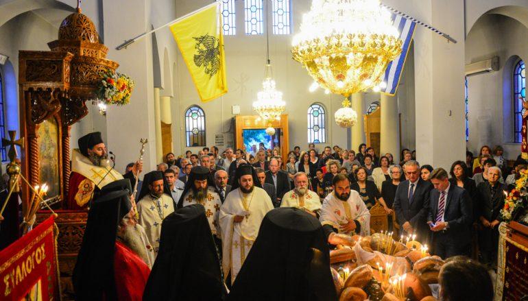 Αρχιερατικός Εσπερινός του Αγίου Ιωάννου του Θεολόγου στην Αναλήψεως Λαγκαδά (ΦΩΤΟ)