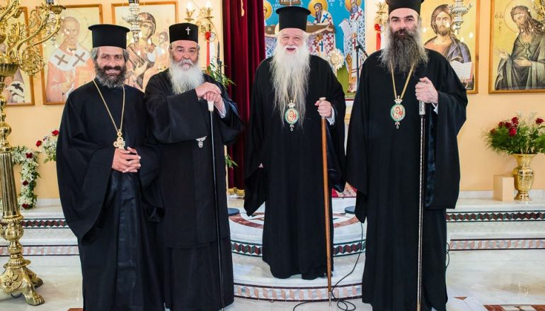 Εγκαίνια Ιερού Ναού Αγίου Νικολάου Ροδιάς Αιγιαλείας (ΦΩΤΟ)