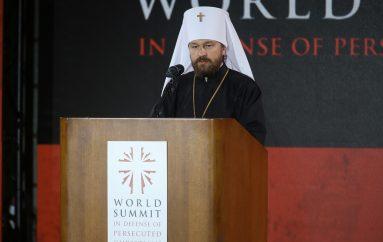 Ο Μητροπολίτης Βολοκολάμσκ στη Παγκόσμια Σύνοδο Κορυφής (ΦΩΤΟ)