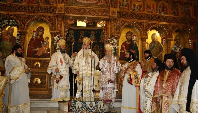 Το Αγρίνιο τίμησε τον Πολιούχο του Άγιο Χριστοφόρο (ΦΩΤΟ)