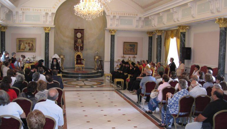 Δημοσιογράφοι από τη Ρουμανία στον Πατριάρχη Ιεροσολύμων (ΒΙΝΤΕΟ)