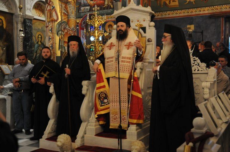 Πολυαρχιερατικός εσπερινός στον Αγ. Ιωάννη το Ρώσο στο Νέο Προκόπιο (ΦΩΤΟ)