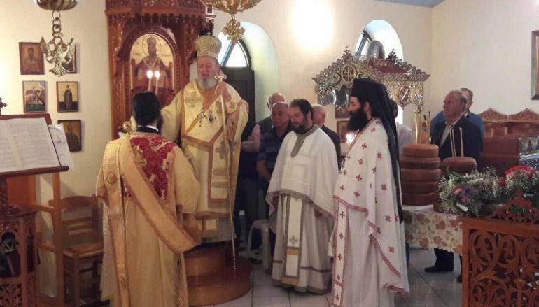Η εορτή της Αναλήψεως στον Λιμνώνα Χαλκίδος (ΦΩΤΟ)