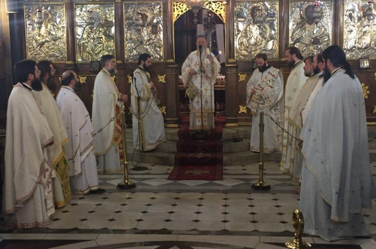 Η Ι. Μ. Χαλκίδος προσευχήθηκε για τα παιδιά των Πανελλαδικών (ΦΩΤΟ)