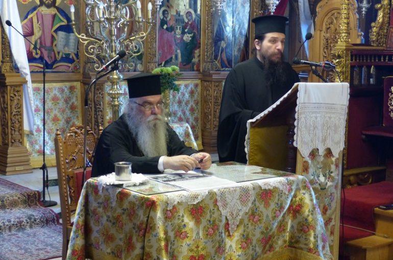 Ιερατική Σύναξη στον Μητροπολιτικό Ναό Καστορίας (ΦΩΤΟ)